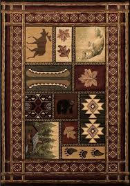 Rustic Lodge Rugs United Weavers Contours Cabin Chalet Rugs Rugs Direct