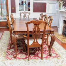 pulaski dining room furniture chippendale style dining set by pulaski furniture ebth