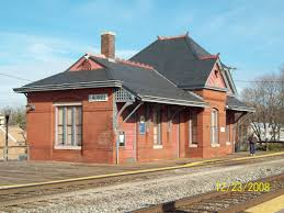 laurel maryland railroad station constructed in 1884 for baltimore