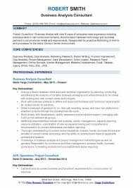 resume business analyst banking domain concepts business analyst consultant resume sles qwikresume