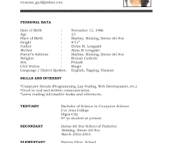 college student application resume exle student resume format final year engineering for students