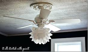 Light Covers For Ceiling Fans Light Flower Drum Shade Ceiling Light