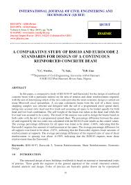 a comparative study of bs8110 and eurocode 2 standards for design