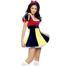 Female Dog Halloween Costumes Snow White Cosplay Costume Halloween Women Costumes Role