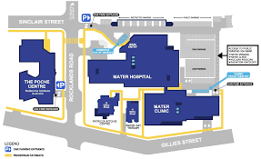 Waterloo Station Floor Plan by Facility Access Patients U0026 Visitors Mater Hospital North Sydney