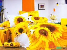 sunflower bedding sets queen bedspread yellow doona duvet cover