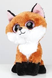 ty beanie boo small slick fox