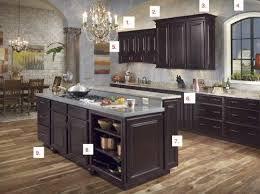 Espresso Cabinets Kitchen Kitchens With Espresso Cabinets In Home Designs