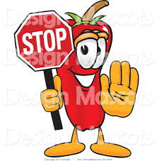 royalty free stop stock mascot designs