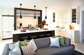 cuisine ouverte sur salon cuisine ouverte petit espace cuisine et salon ouvert ide cuisine