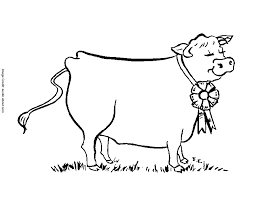 dairy cow coloring pages coloring home