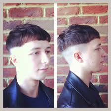 haircut with weight line photo gents haircut shaved up to a weight line textured through the