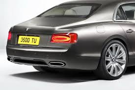 bentley continental flying spur rear new bentley flying spur bows ahead of the geneva motor show