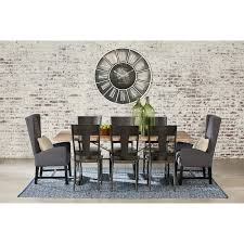 Rustic Vintage Dining Area Chair Table Rustic Dining Room Tables And Chairs Industrial