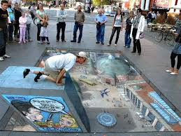 Optical Illusion Wallpaper by 3d Optical Illusion Street Art Watching People Hd Art Wallpapers