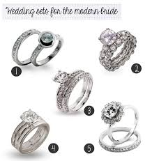 simple wedding ring sets wedding sets for the modern evesaddiction jewelry