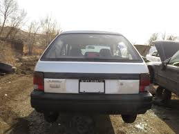 subaru justy junkyard find 1993 subaru justy the truth about cars