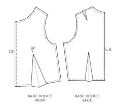 dress pattern without darts fundamentals of pattern making moving darts by cut and spread the