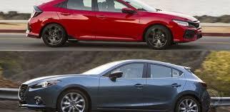 mazda 3 hatchback mazda 3 vs honda civic hatchback it s not a matter of choice