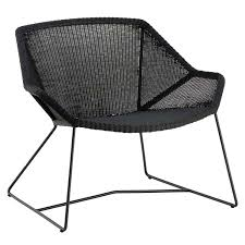 No Cushion Outdoor Furniture - breeze lounge chair by cane line yliving