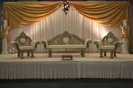 wedding backdrop gold 3 6m white and font b gold b font silk font b wedding b font