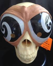 funny alien bug eyes hypnotic mask goggles cosplay costume party