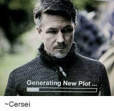 Generating Memes - generating new plot cersei meme on me me