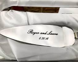 Wedding Gift Knife Set Cake Knife Set Etsy