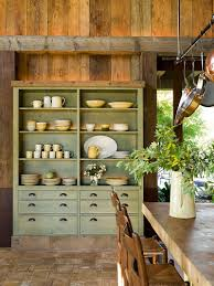 Dining Room Hutch Ideas Dinning Rooms Farmhouse Dining Room With Rustic Hutch And Rustic