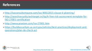iso 27001 2013 clause 6 planning by software development company u2026