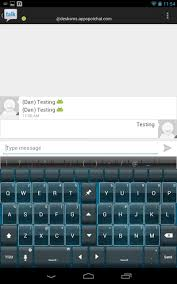 tabletsms text messaging on your tablet via your android phone