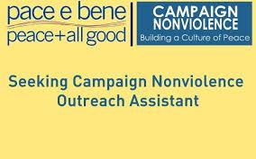 Seeking Text Seeking Caign Nonviolence Outreach Assistant Pace E Bene