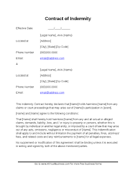 indemnity waiver template 28 images 10 indemnity agreements