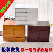 Desk Top Organizer by Popular Wooden Desktop Organizer With Drawers Buy Cheap Wooden