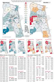 Florida Zip Codes Map by January 2011 My Agent Greg
