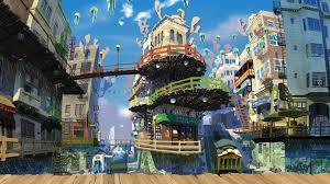 anime city wallpaper 1920x1080 82595