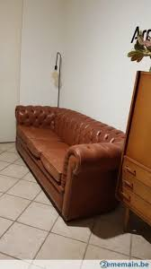 canap chesterfield 3 places canapé chesterfield 3 places a vendre 2ememain be