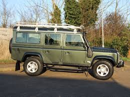 green land rover land rover defender 110 td5 station wagon registered 2005 tonga