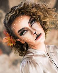 Deer Halloween Costume Women 25 Deer Halloween Makeup Ideas Women Deer Makeup Halloween
