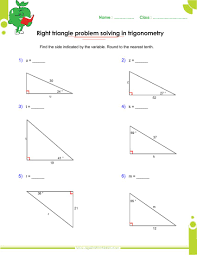 solve right triangle calculator right triangle trigonometry word problems right triangle trigonometry worksheets