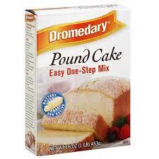 dromedary pound cake mix 16 oz pack o walmart com