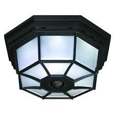 decorative motion detector lights heath zenith 360 degree motion activated decorative ceiling light