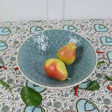 decorative fruit bowl decorative green ceramic serving bowl or fruit bowl u2013 curated living
