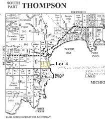 Michigan On Map Lake Michigan Waterfront Property Up Michigan 7 Miles East Of