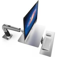 imac desk ergotron lets mac users stand and deliver tidbits