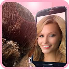 how to see yourself in a different hair color hairstyle mirror try on live android apps on google play