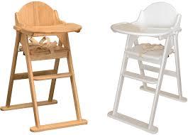 chaise haute bébé bois pliante calligari shop
