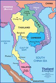 map of thailand map thailand thailand big map pattay villa holidays