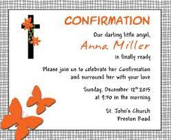 confirmation invitations unique wording sles and tips for confirmation invitations