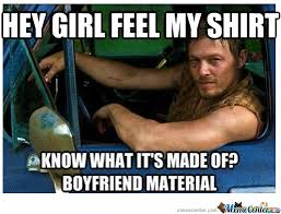 Walking Dead Daryl Meme - daryl from the walking dead by dasarcasticzomb meme center